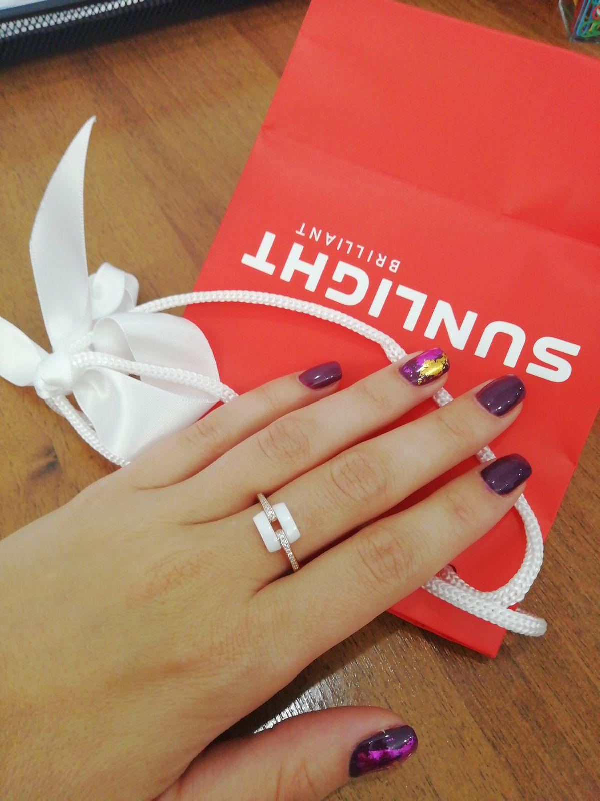 Изящное и нежное кольцо!