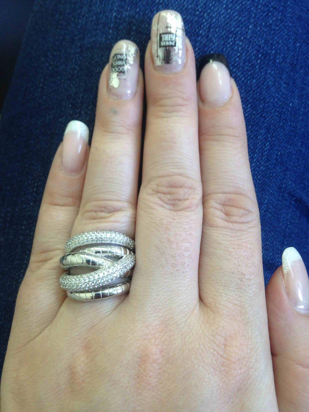 Уже давно хотела большое кольцо