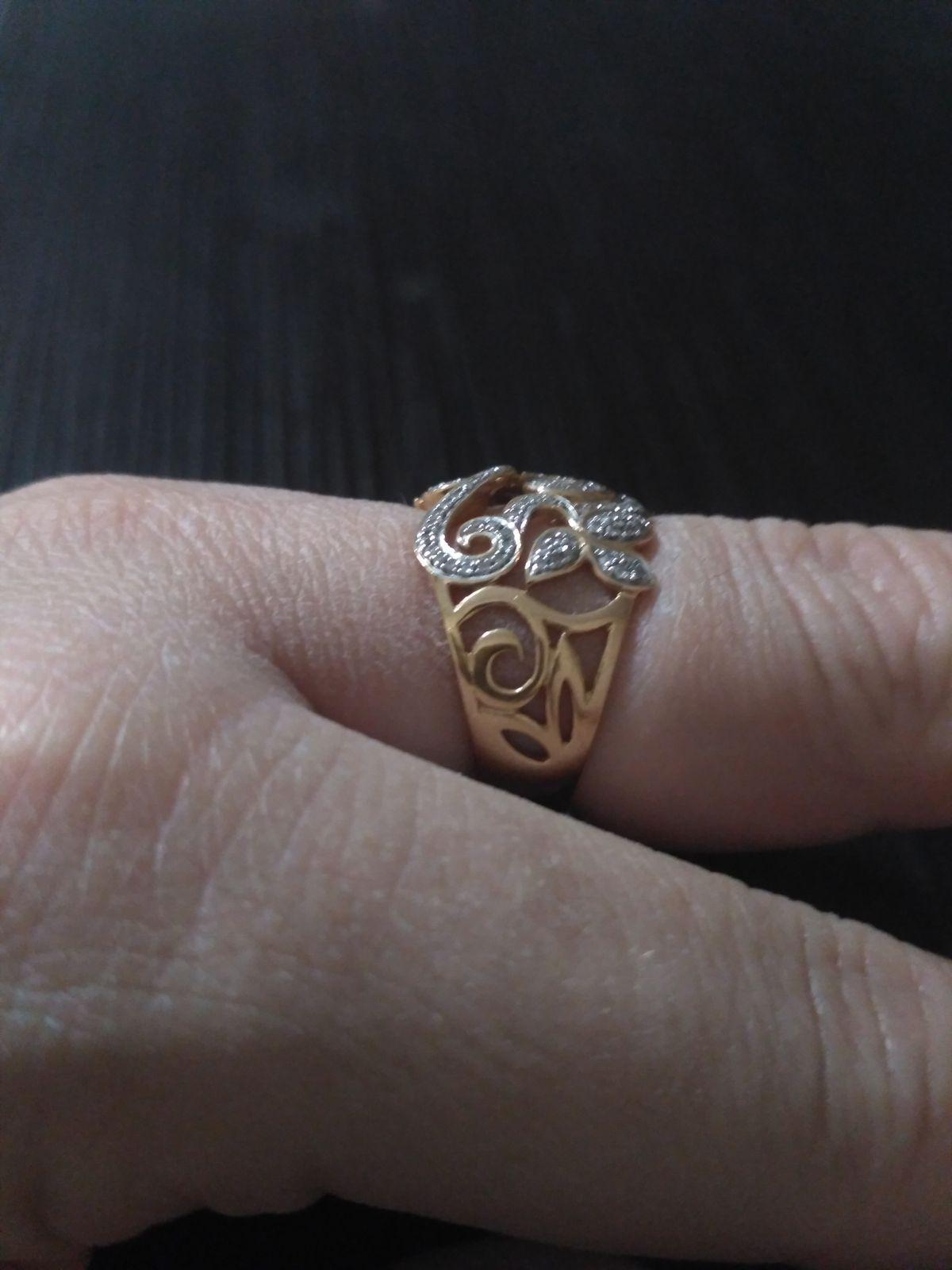 Шикарное кольцо-перстень.