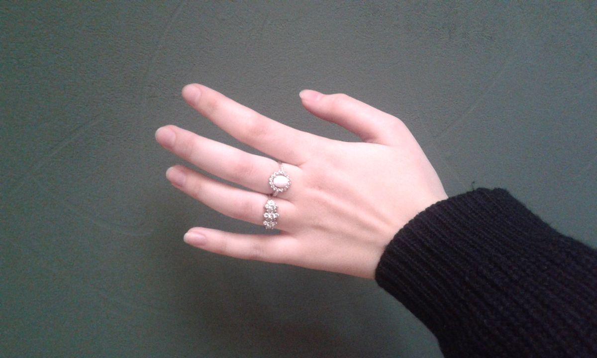 Очень красивое кольцо с опалом