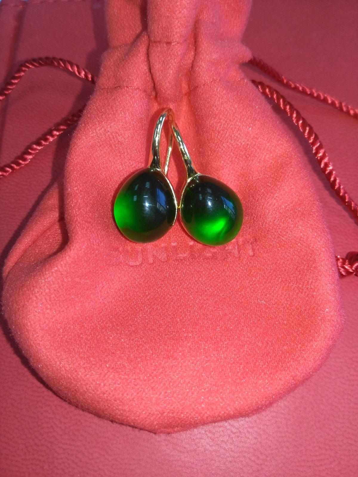 Зеленые капли