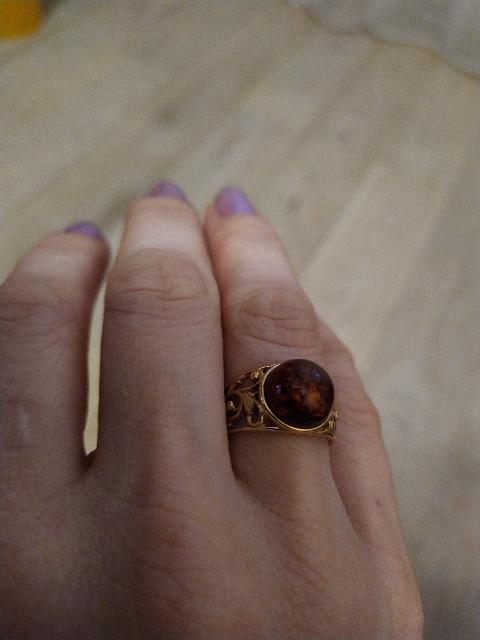Элегантное кольцо.
