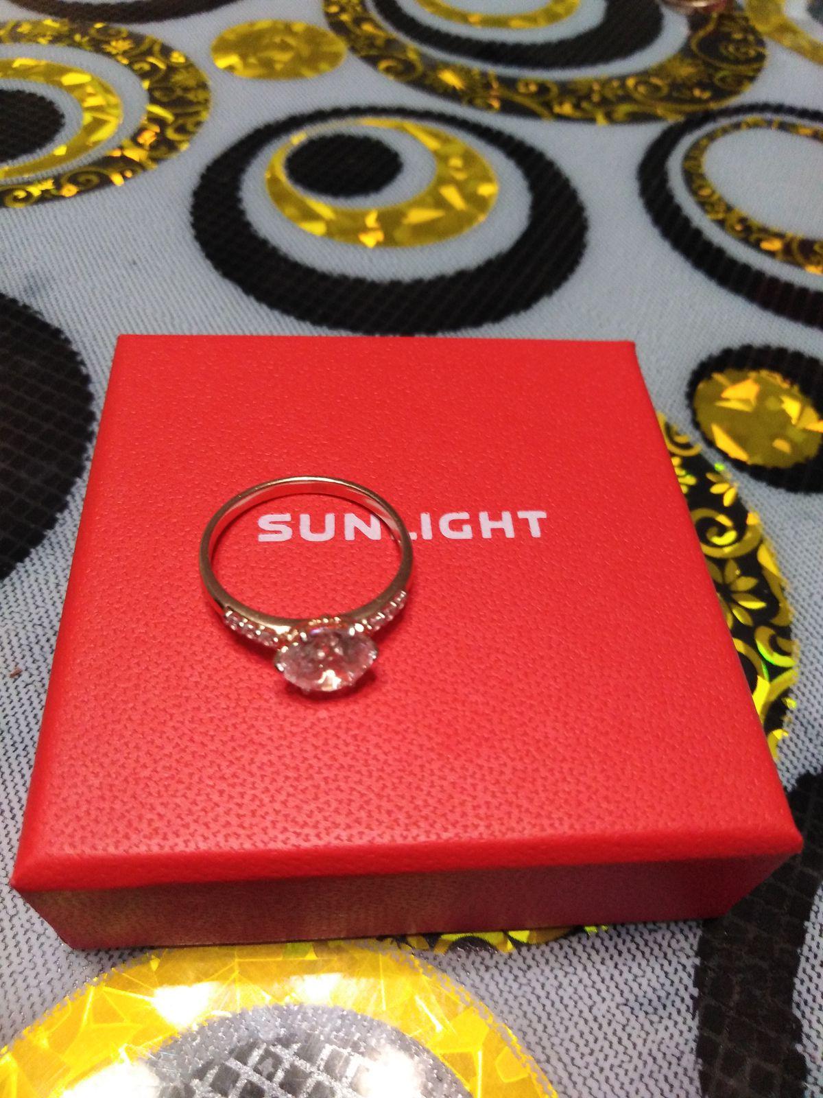 Удивительно красивое кольцо.