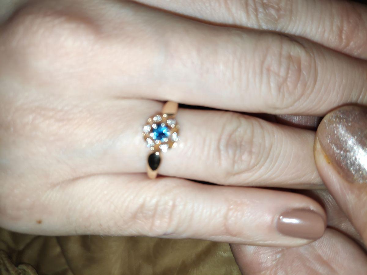 Кольцо для юной девушки!