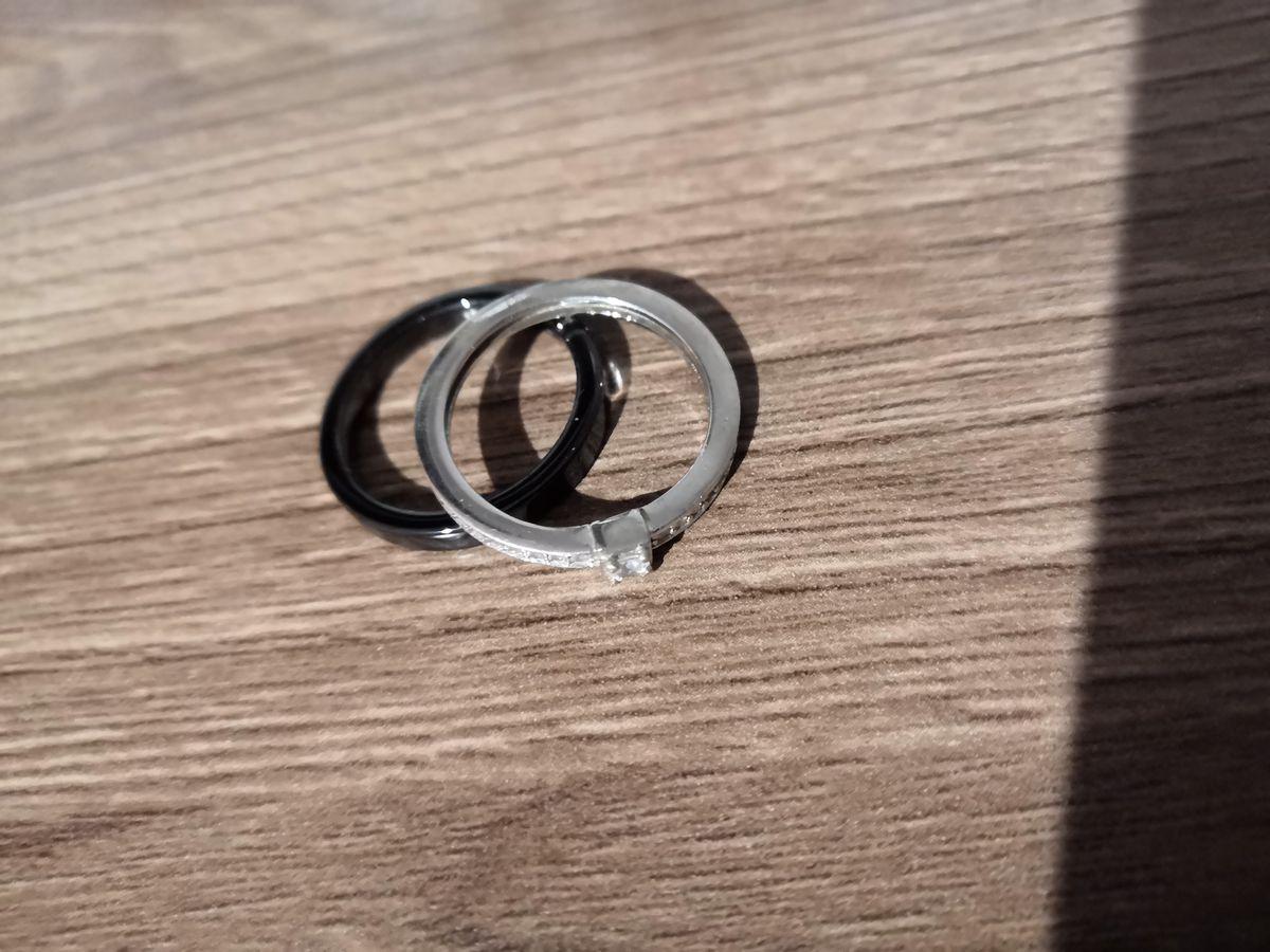 Очень красивое керамическое кольцо