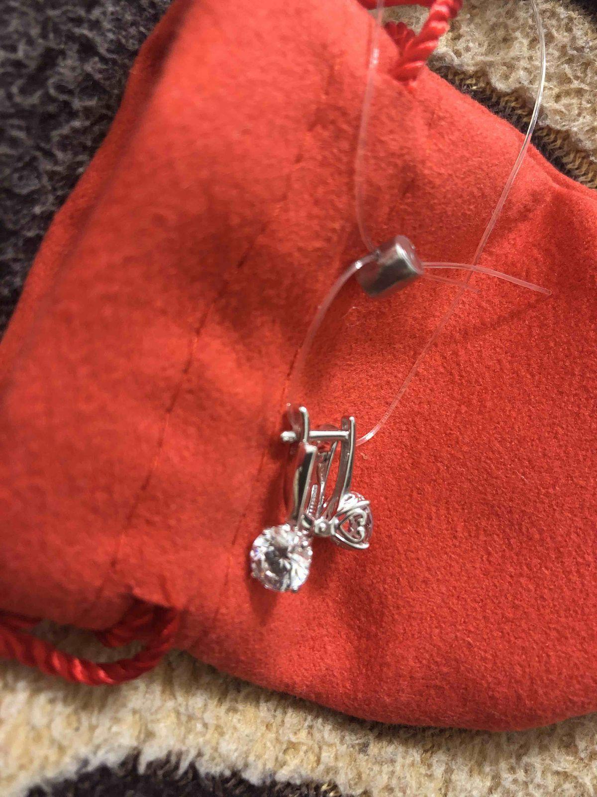 Серебряные серьги Соколов