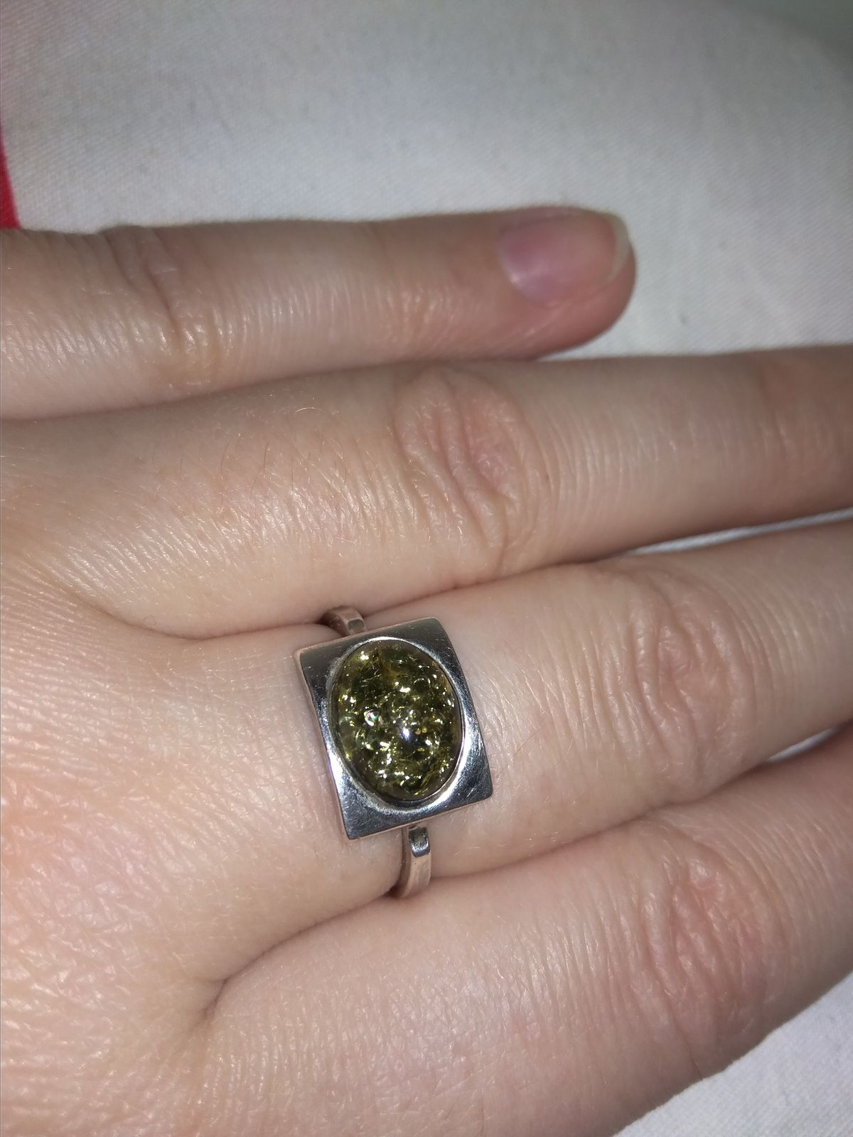 Кольцо + серьги