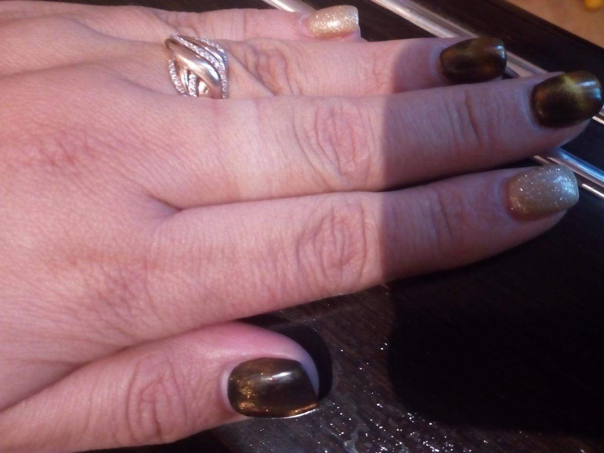 Оригинально, красивое кольцо.