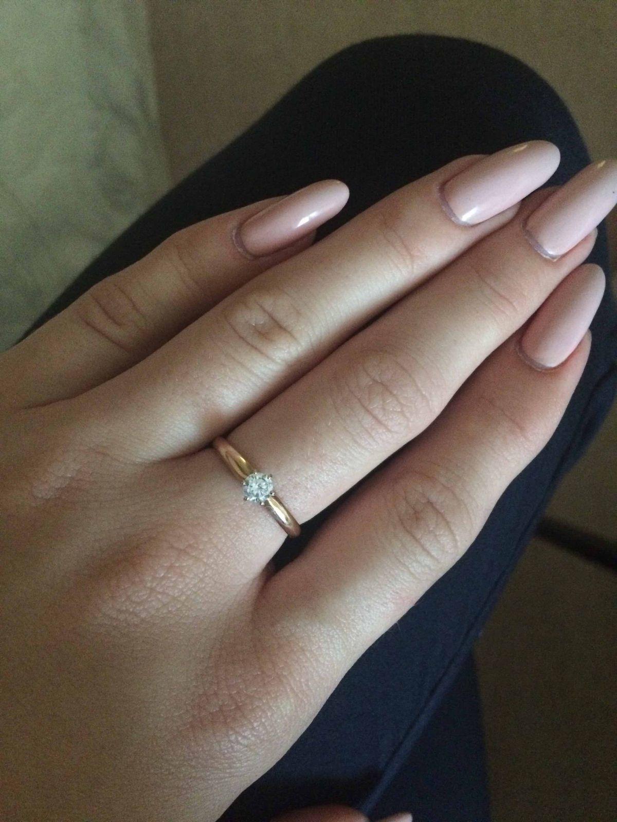 Очень милое, золотое кольцо