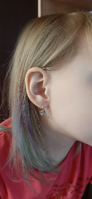 Миленькие серёжки для дочки