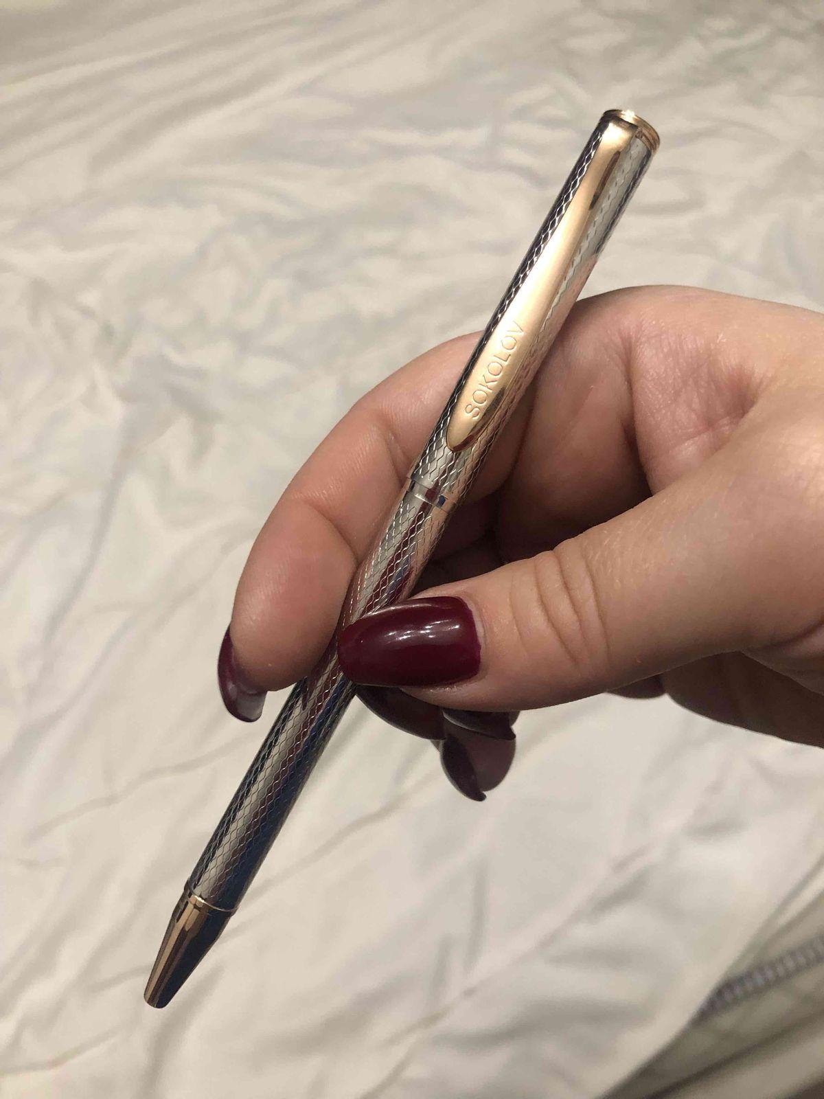 Крутая ручка!