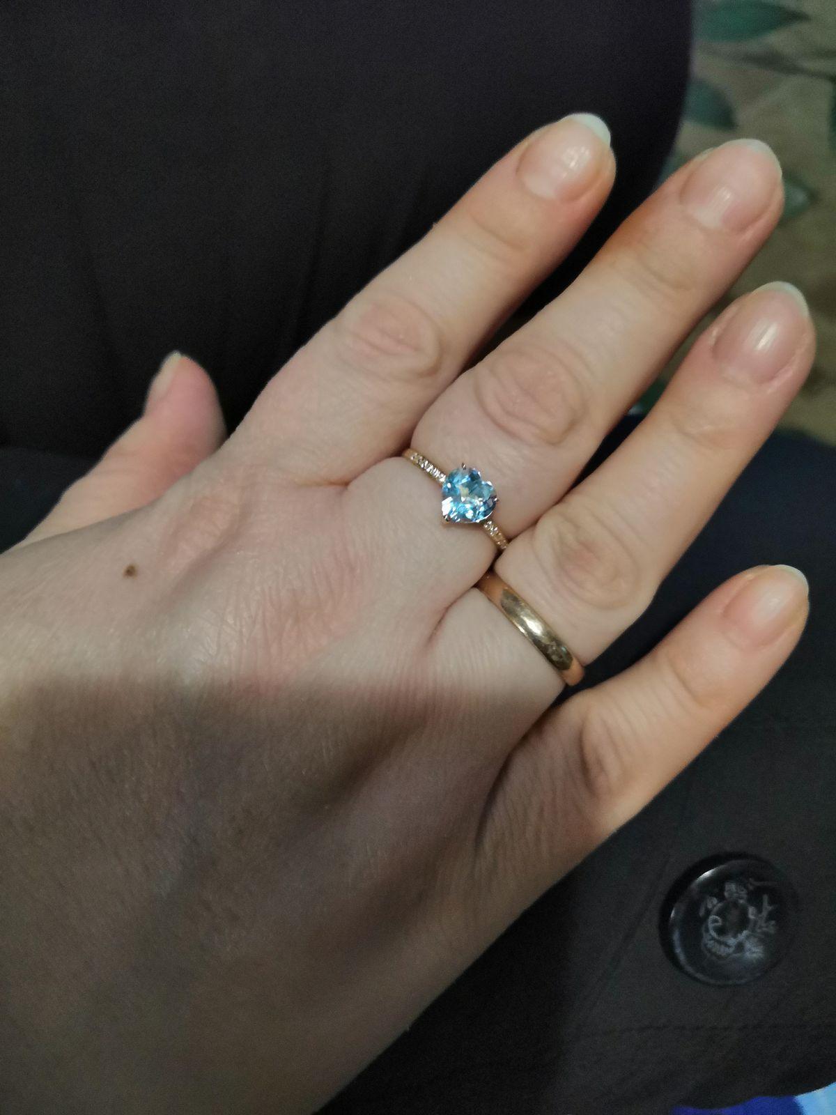 Прикольное кольцо.