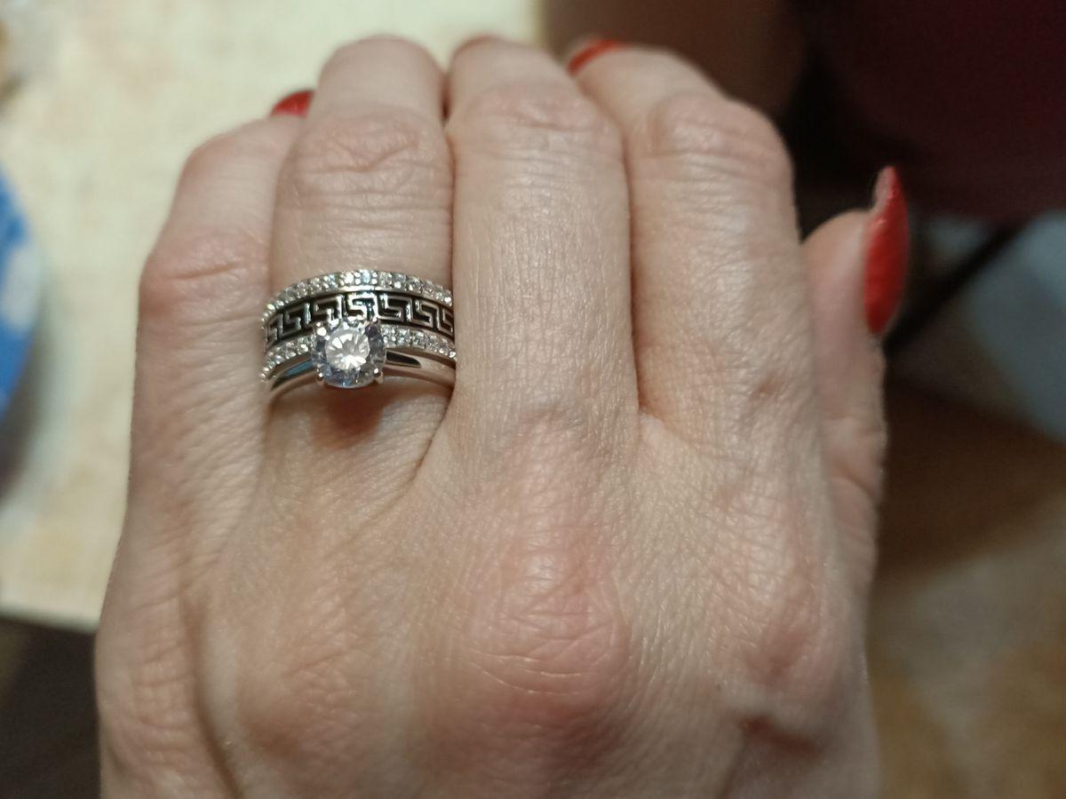 Изумительное серебряное кольцо