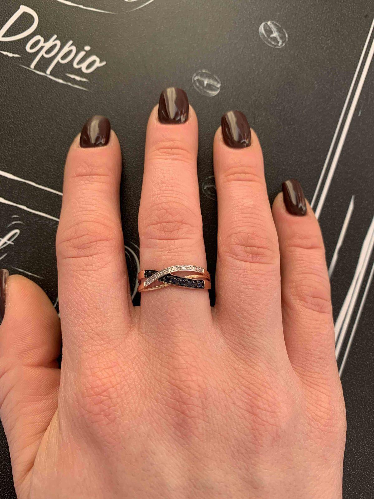 Сапфиры кольцо