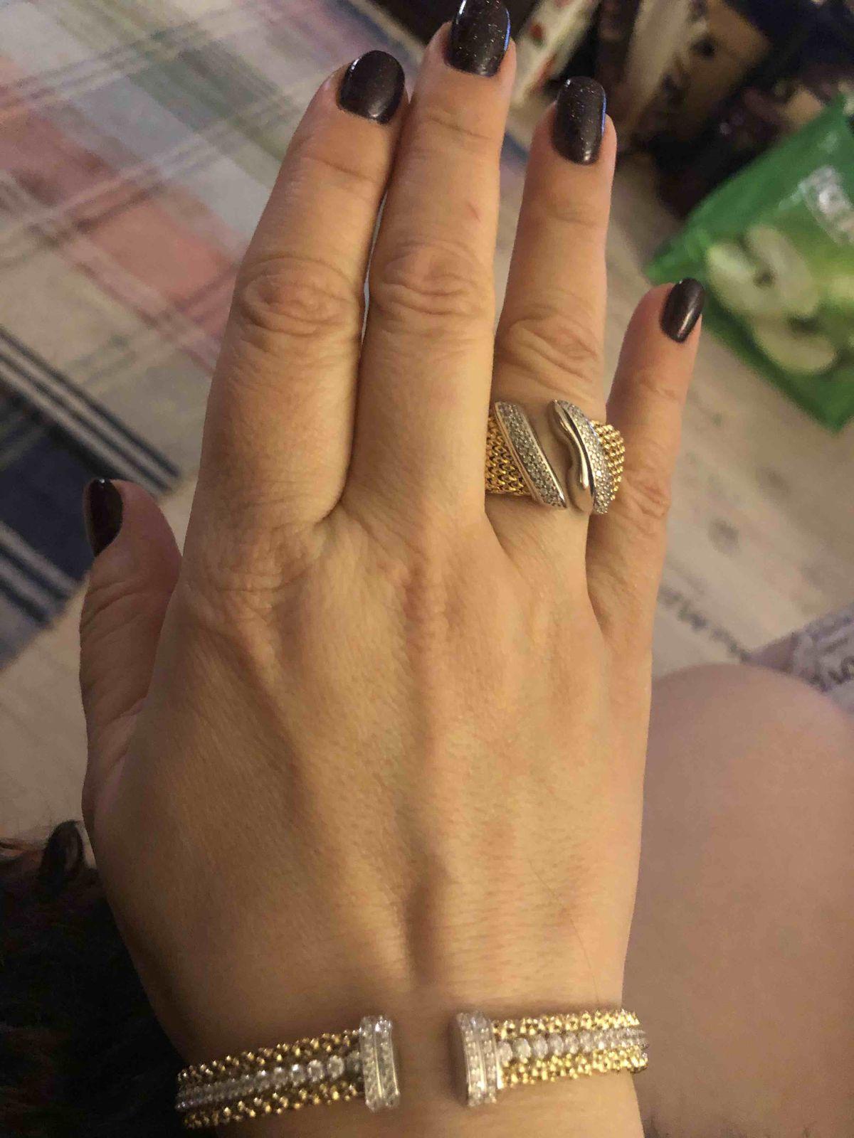 Шикарное итальянское кольцо!