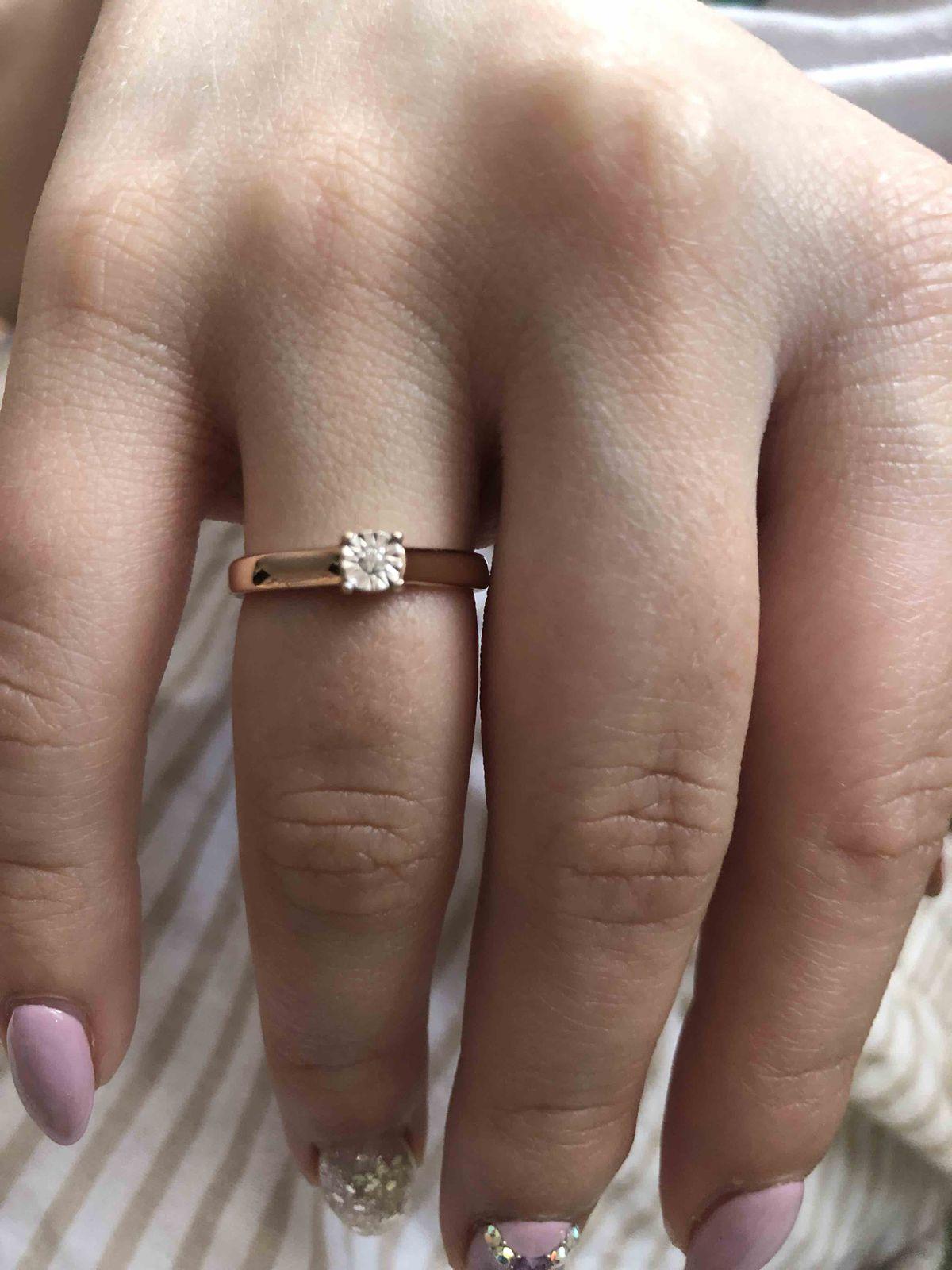 Кольцо что бы сделать предложение своей девушке, ответ был да