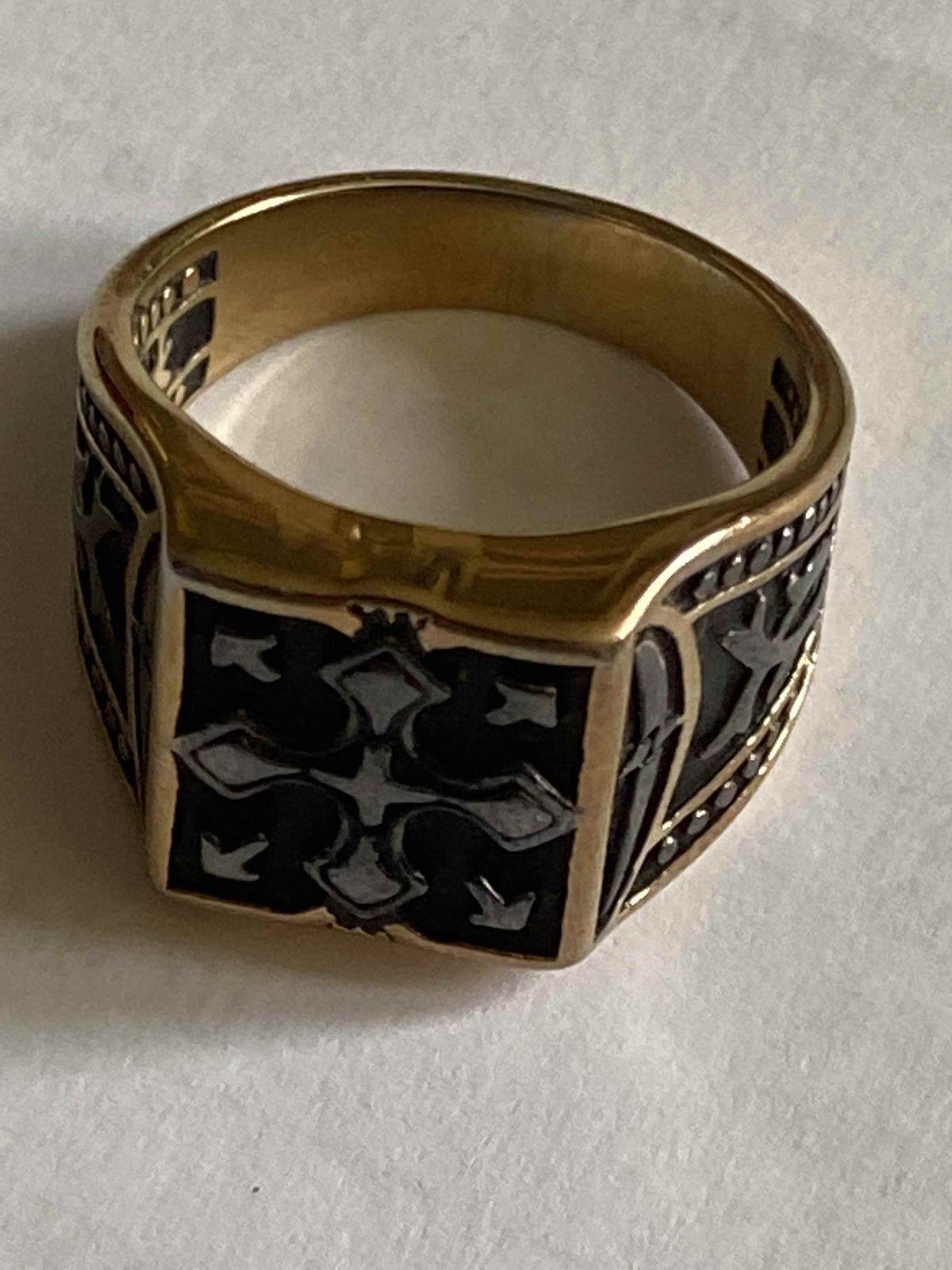 Кольцо мужское из стали