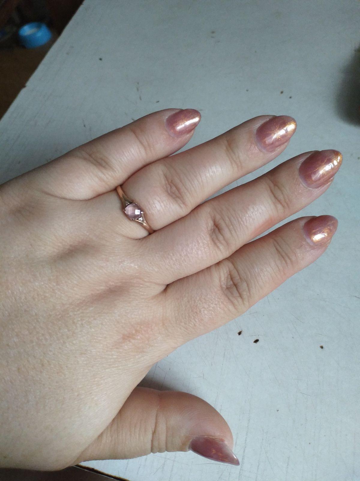 Кольцо с морганитом