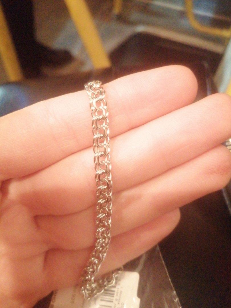 Классный браслет, подарила парню