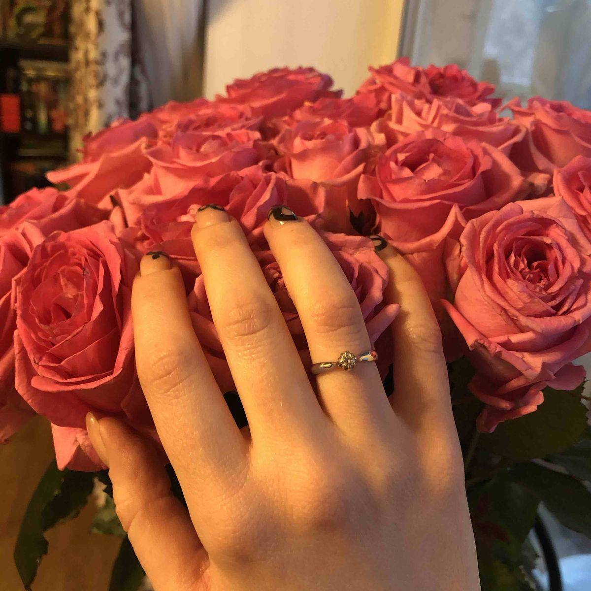 Красивое классическое кольцо
