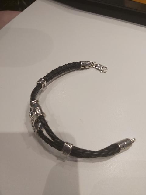 """Серебрянный браслет """"Перун"""""""