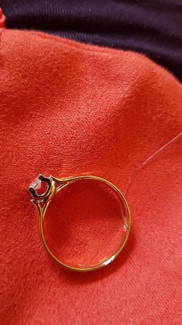 Кольцо себе в подарок на день рождения).