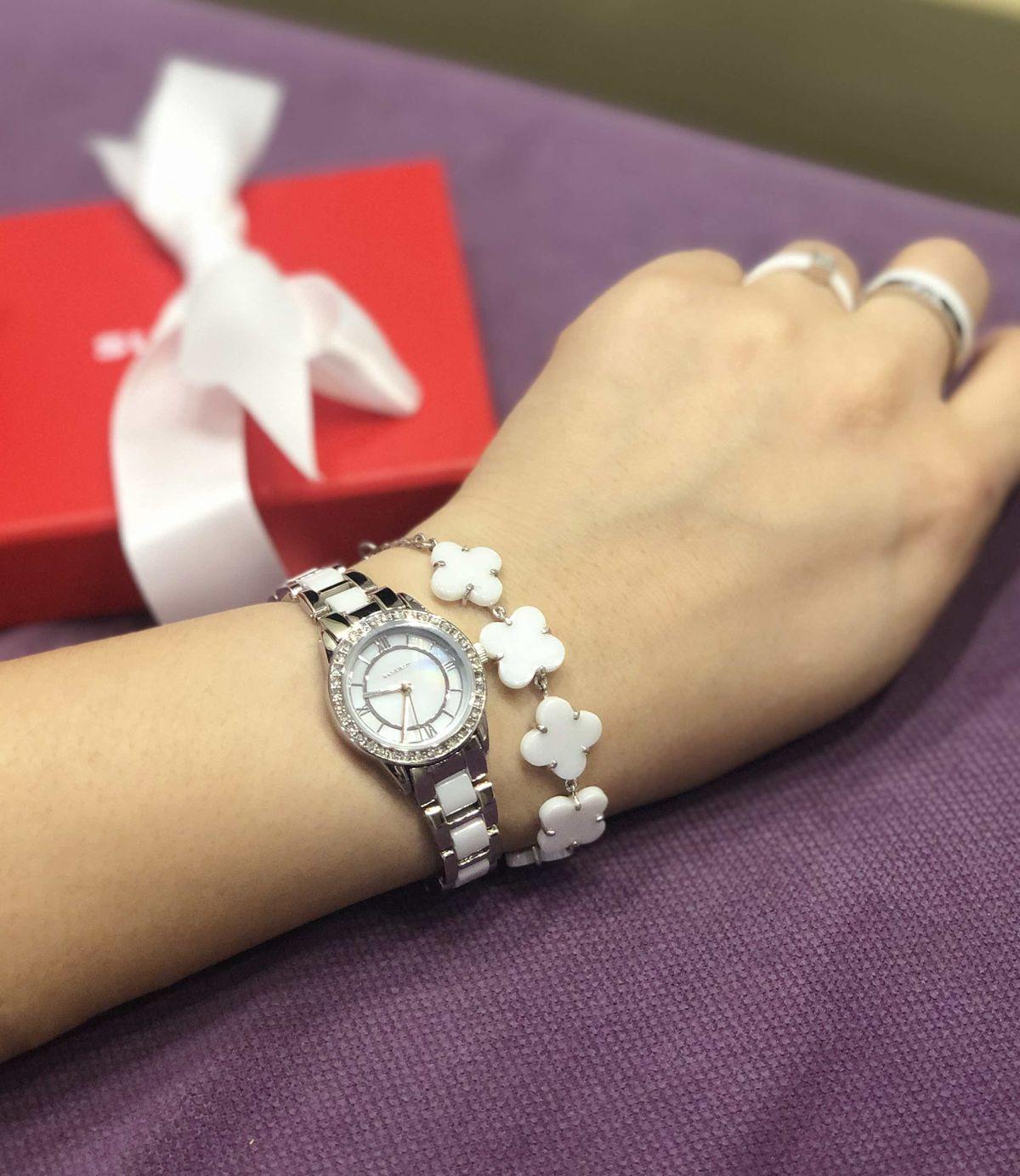 Купила керамические часы