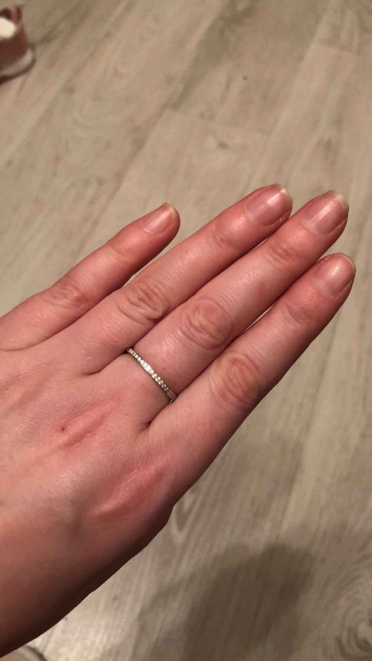 Прекрасное дополнение к колечку с бриллиантами)