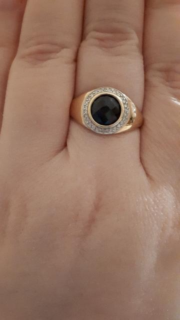 Подарок на 8 Марта!Кольцо с сапфиром чудо- чудесное!