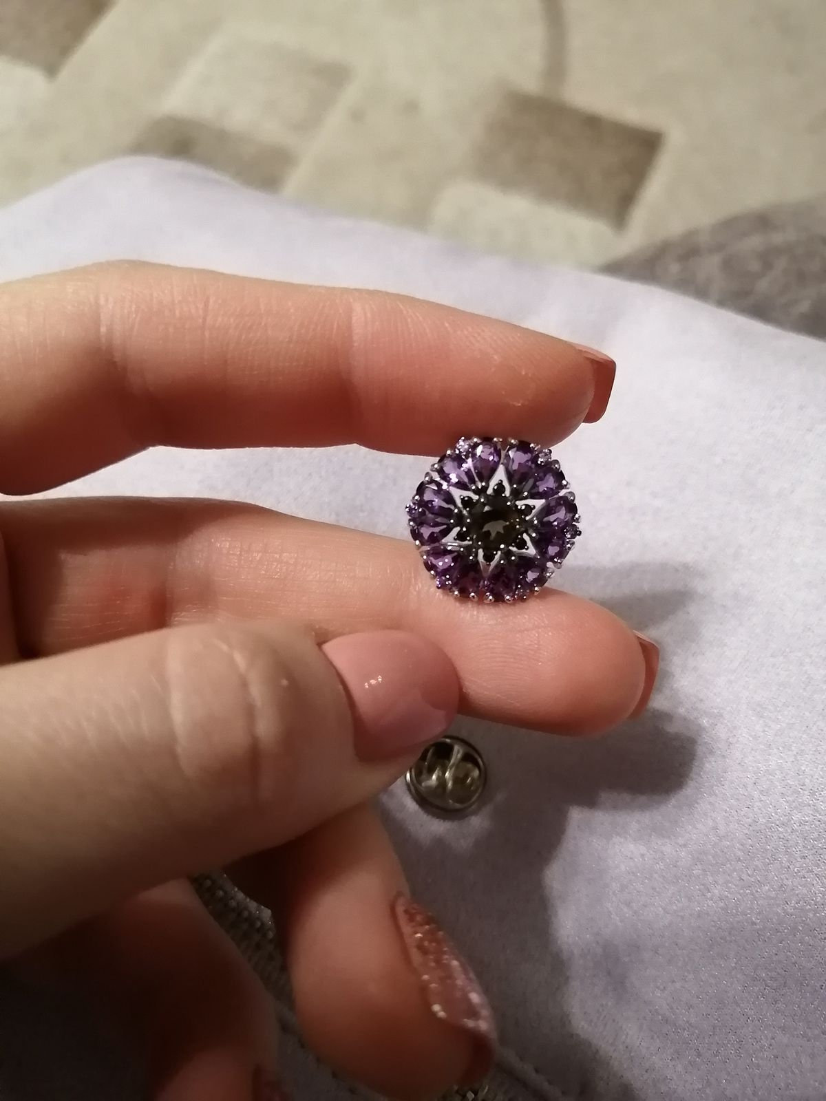 Василечек цветочек