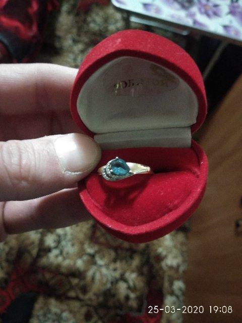 Кольцо из золота 585 поба