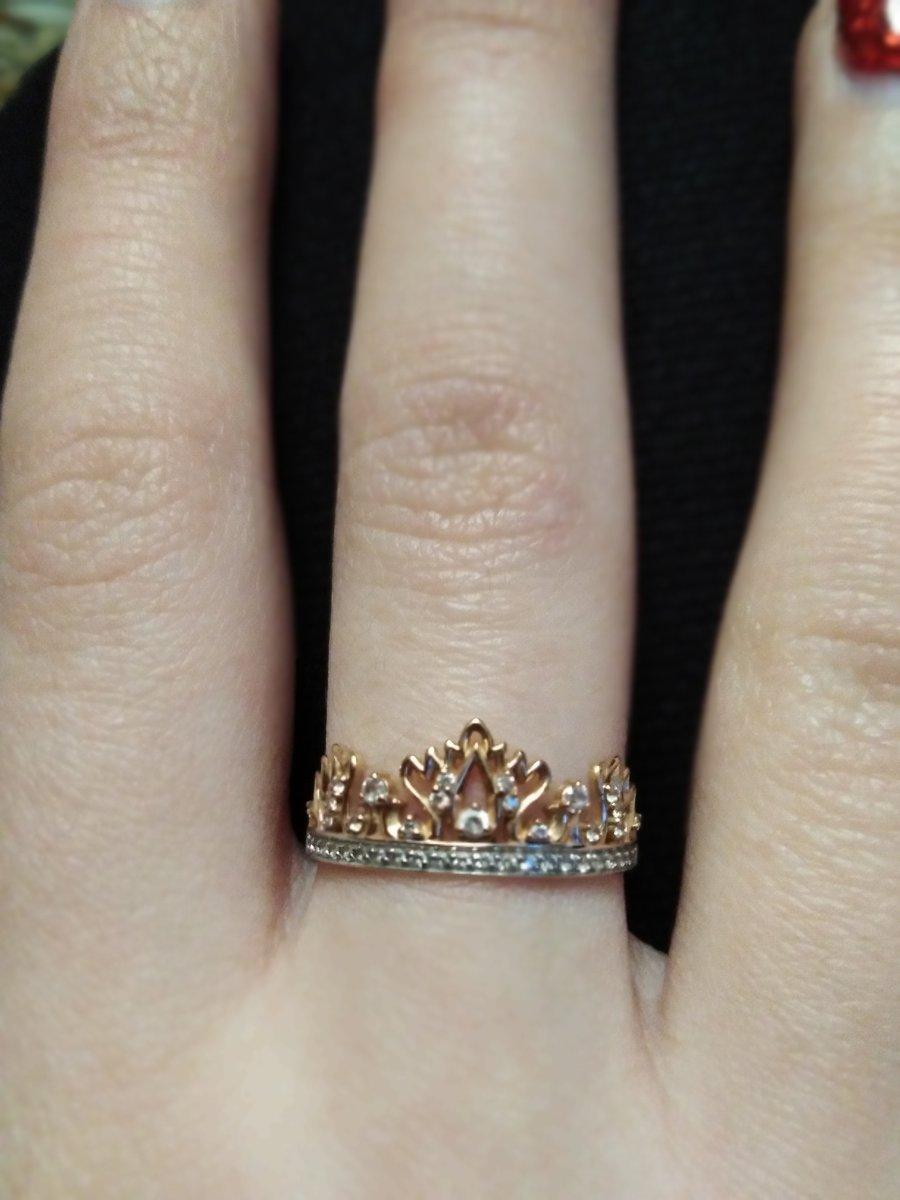 Нежное и стильное кольцо