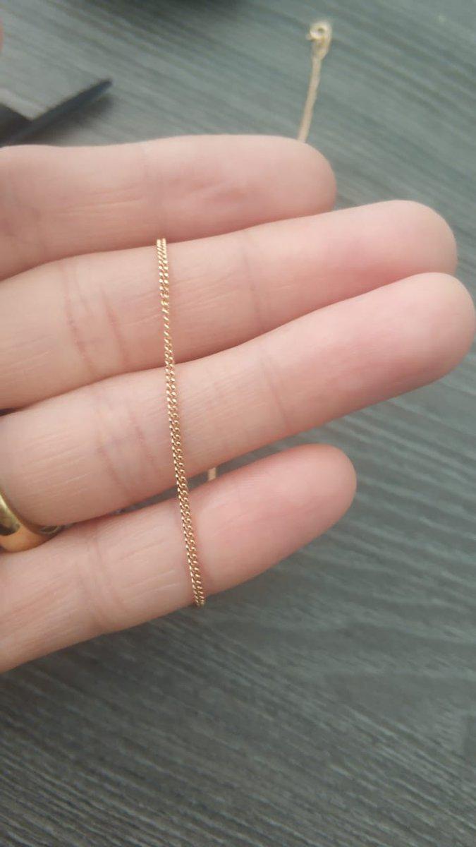 Золотую цепочку брала для подвески которую тоже купила в магазине санлайт