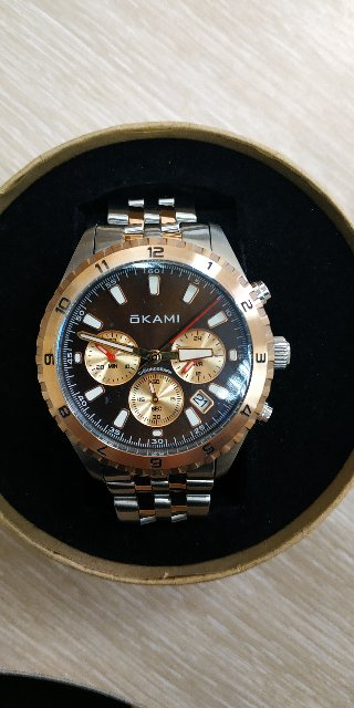 Отзыв на часы Okami