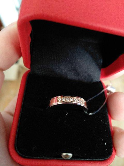 Кольцо обручальное женское