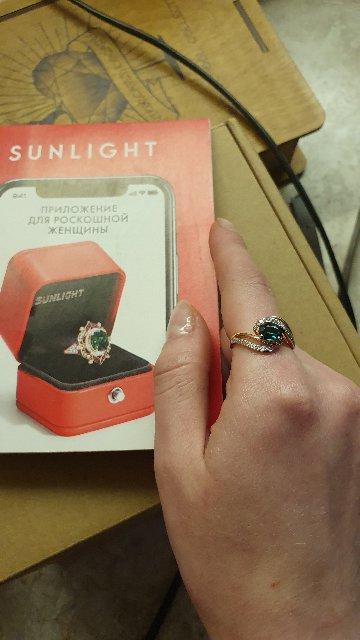 Очень красивое изящное кольцо