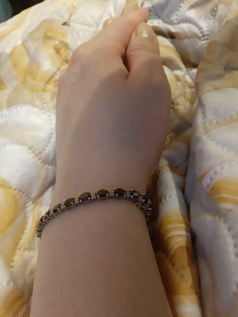 ЛЮБИМЫЙ ❤ Гранатовый браслет