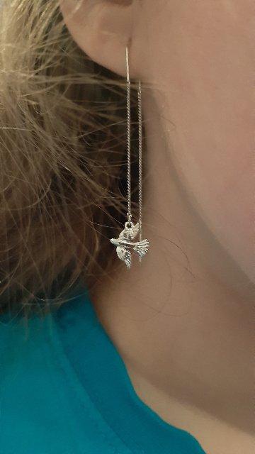 Серебряные птички