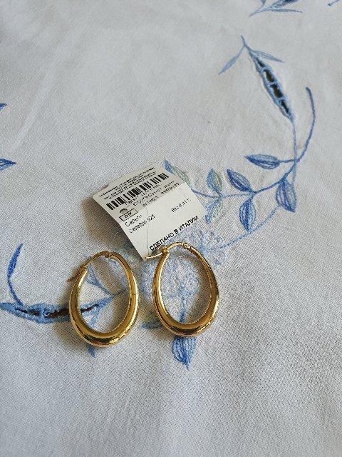 Модные серьги