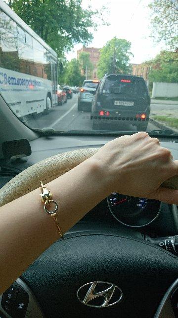 Запоминающийся браслет!