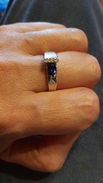 Кольцо с наносапыиром