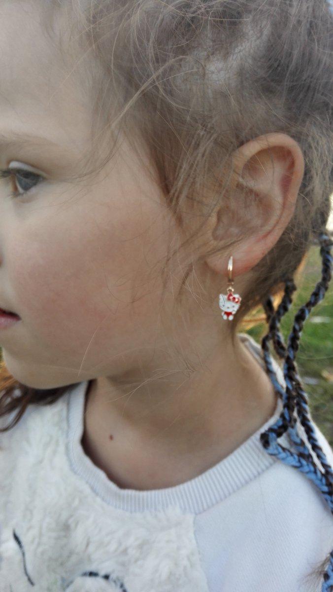 Сережки для дочурки