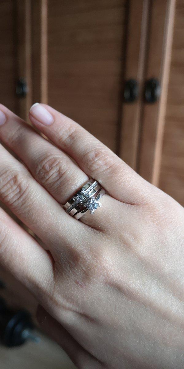 Красивое кольцо, копия Тиффани
