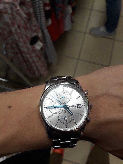Часы пришли, отлично смотрятся на руке