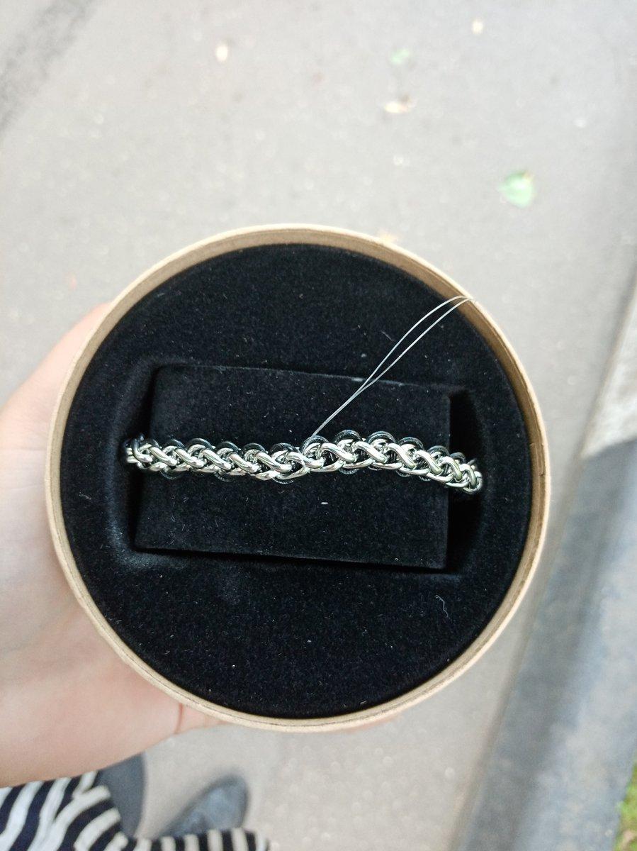 Купила сегодня парню браслет