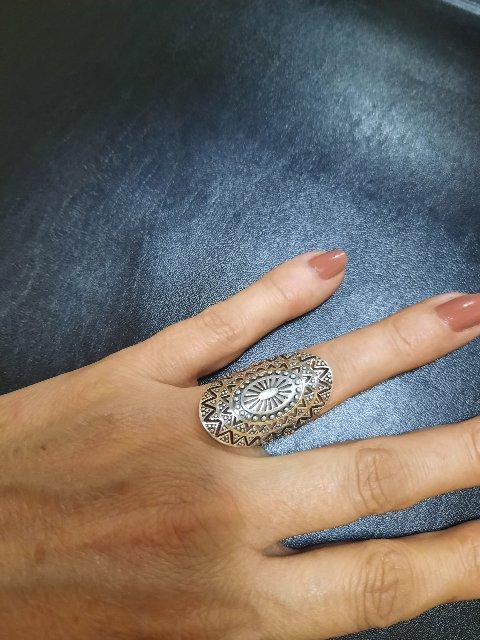 Серебряное кольцо 😍🤩👍