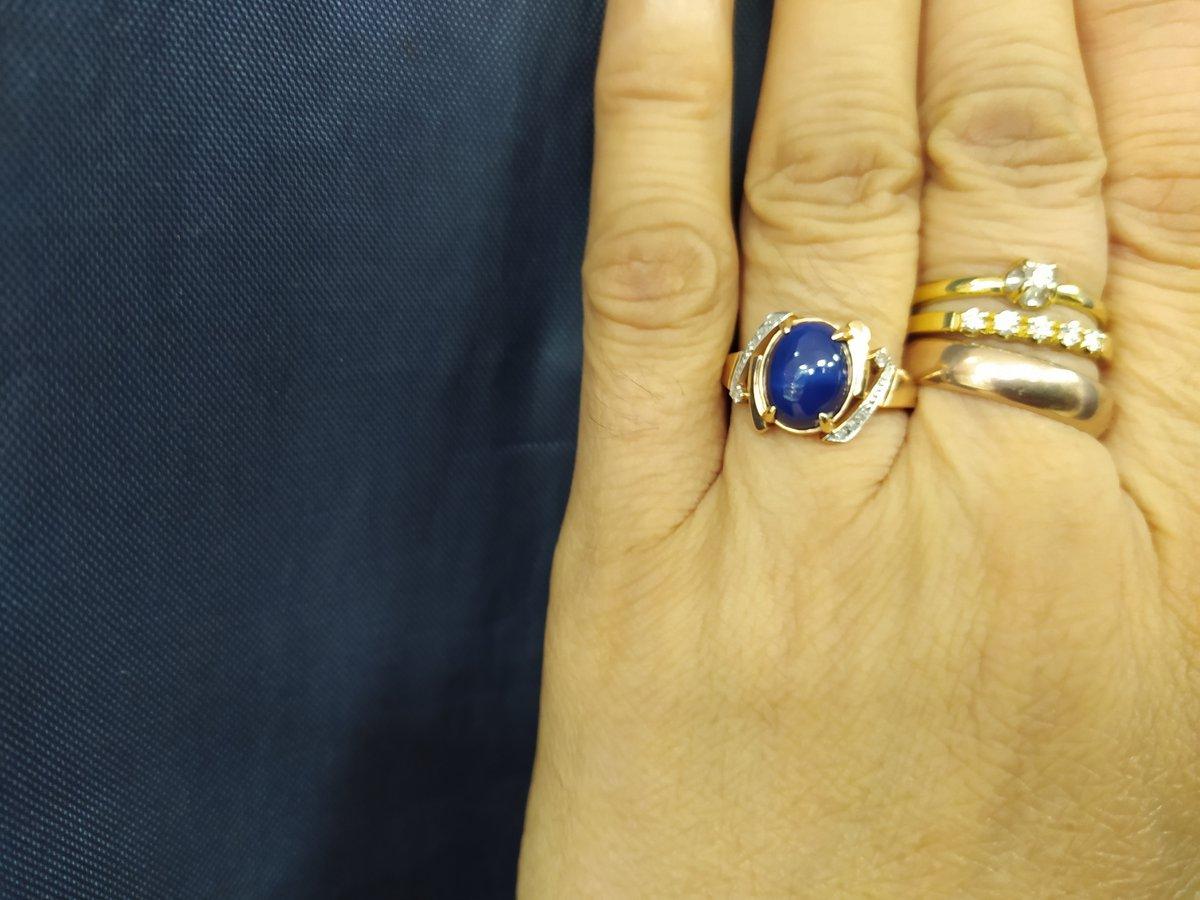 Кольца богато смотриться