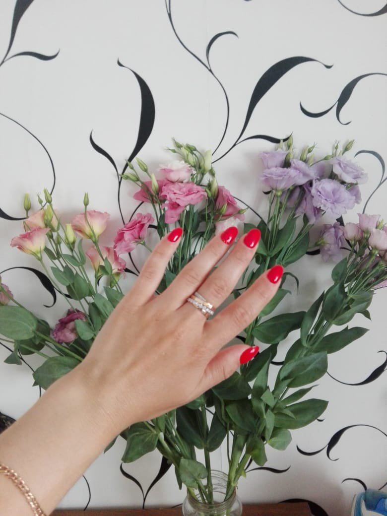 Кольцо для жены на день рождения!