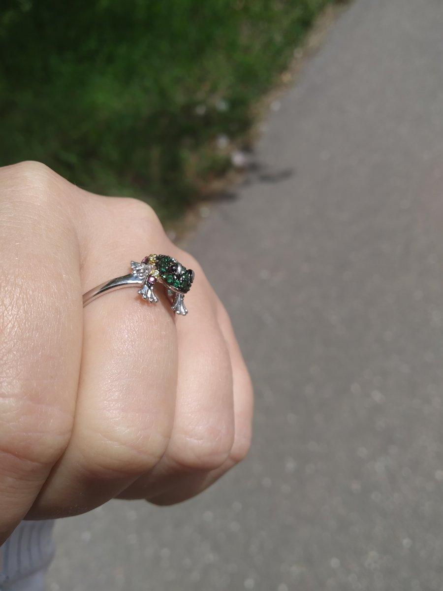 Восхитительное колечко лягушки