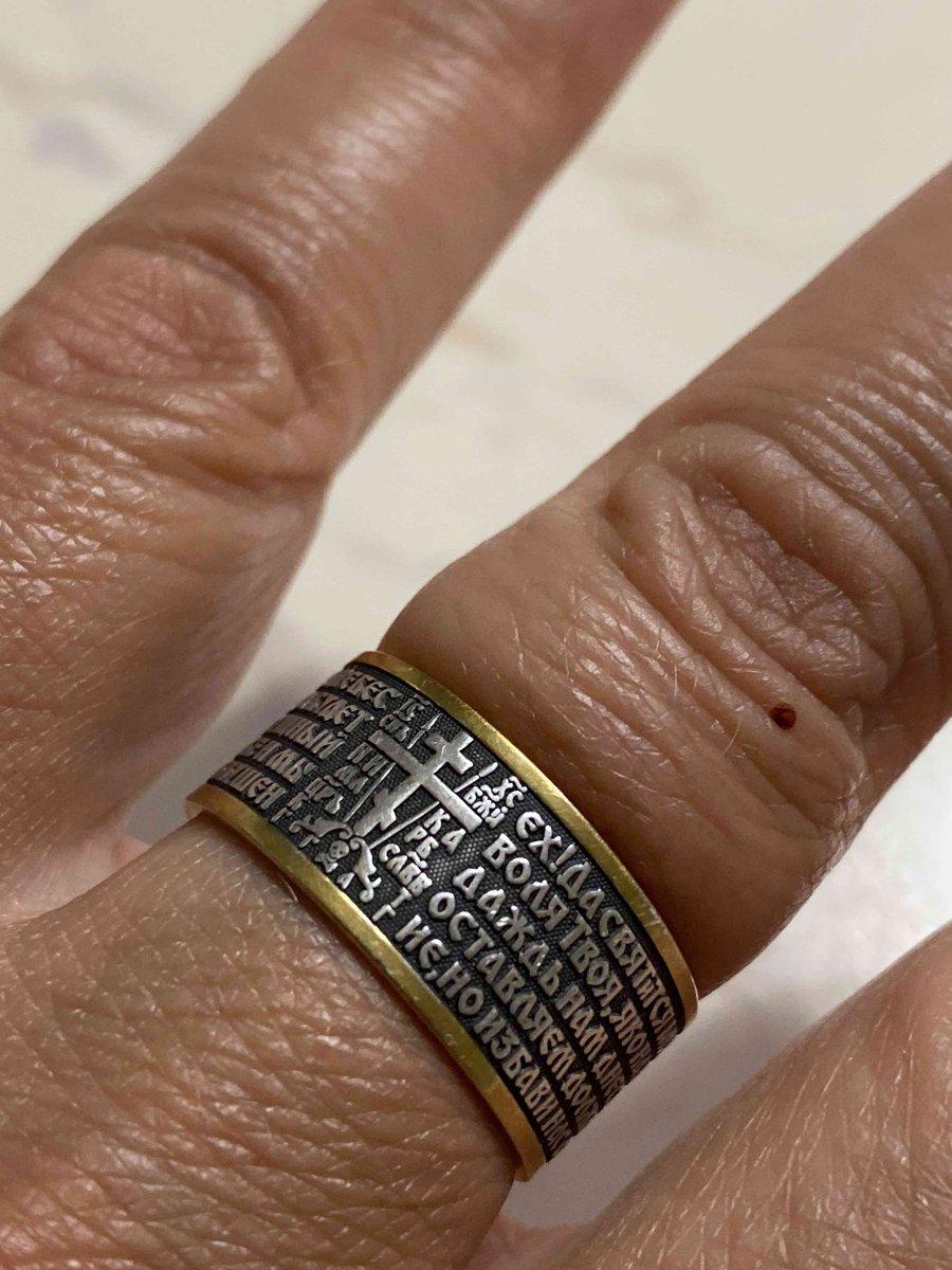Кольцо серкбряное